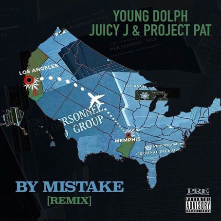 Young Dolph Ft. Juicy J & Project Pat - By Mistake (Remix)