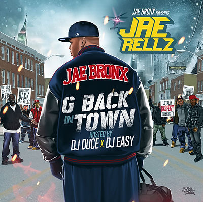 Jae Rellz - G Back In Town