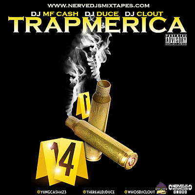 Various Artists - Trapmerica Hosted By DJ Mf Cash, DJ Duce & DJ Clout