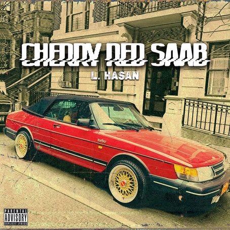 Submitted: L. Hasan - Cherry Red Saab
