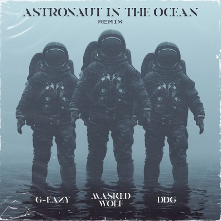 """Masked Wolf Links Up With G-Eazy & DDG For """"Astronaut In The Ocean (Remix)"""""""