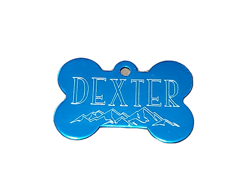 Engraved Dog ID Tag