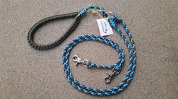 Paracord double leash