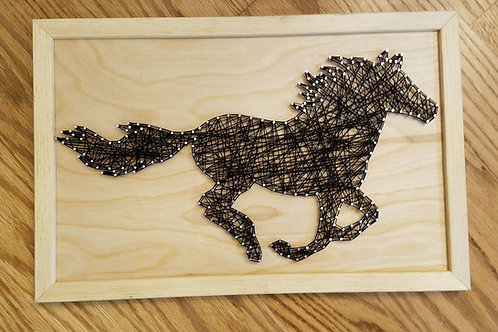 Horse String Art