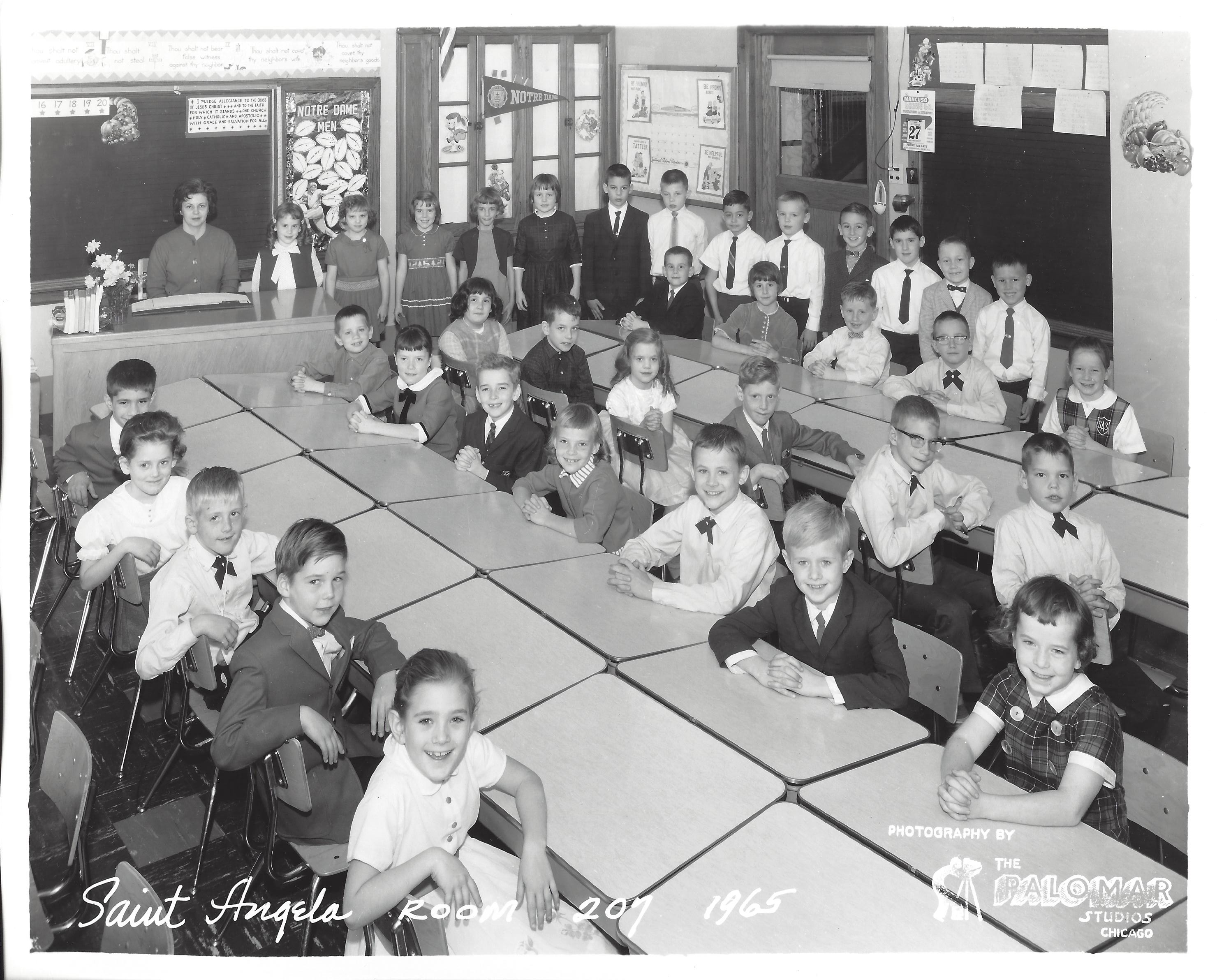 1965 Grade Two Room 207