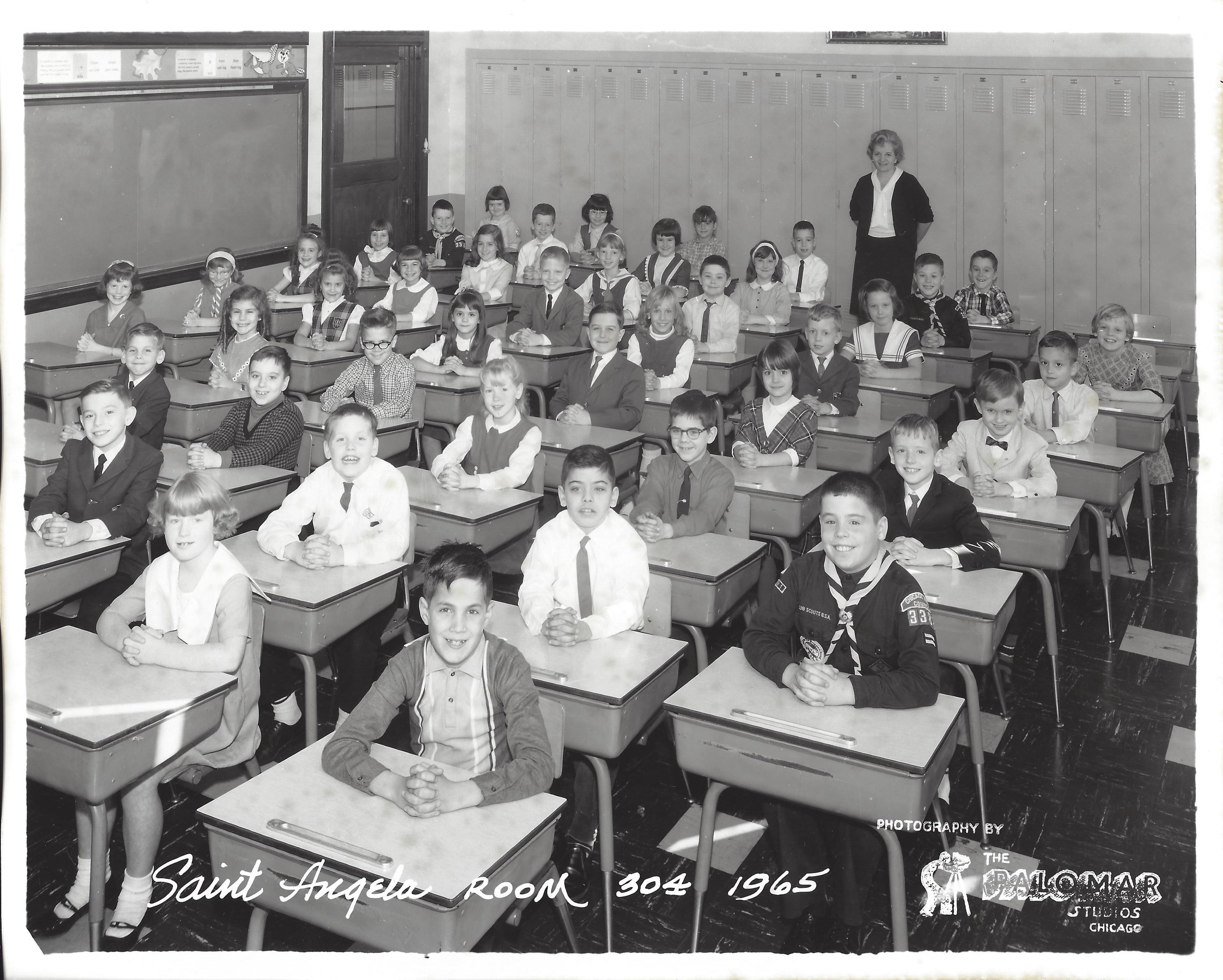 1965 Room 304 Grade Three