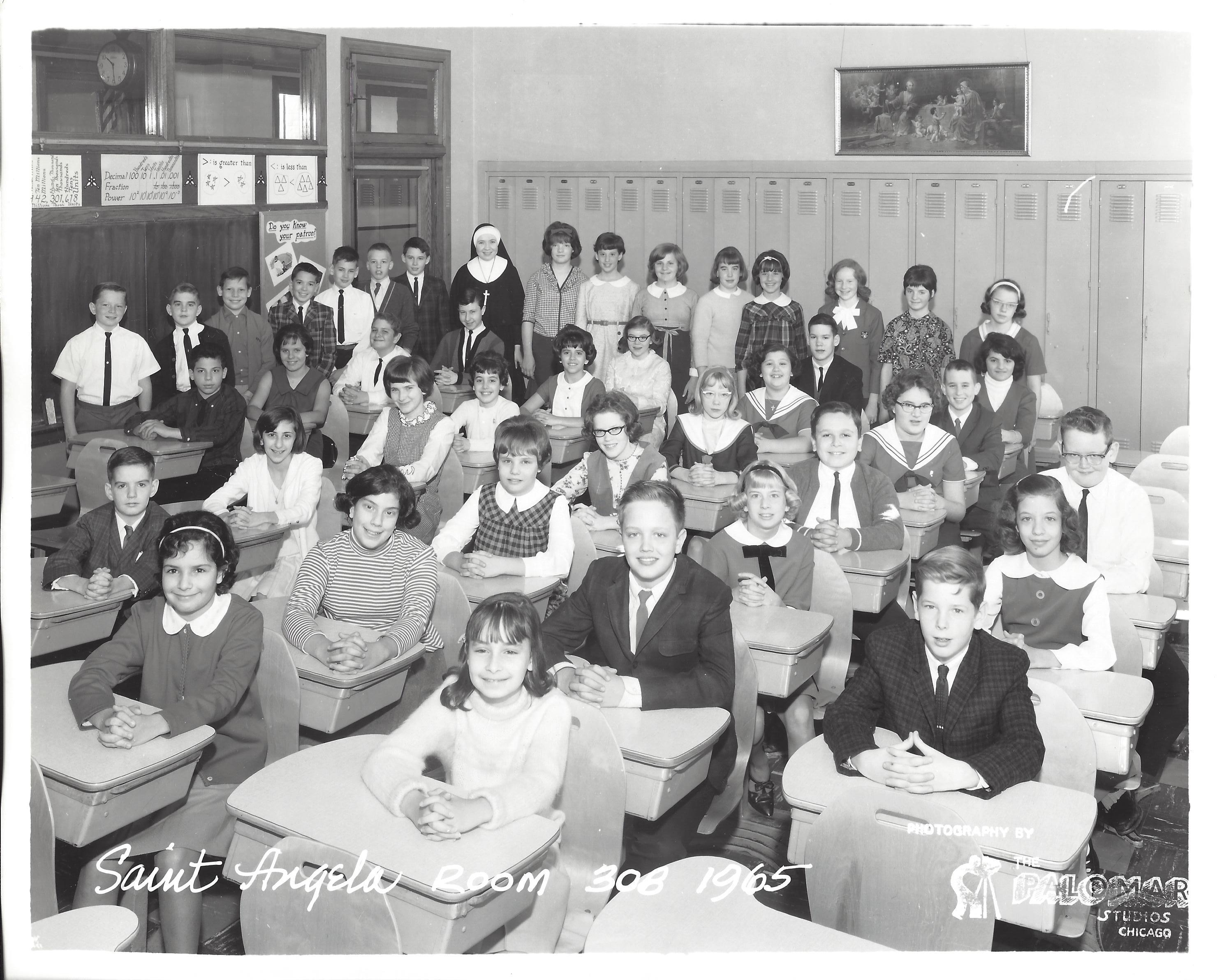 1965 Grade Seven Room 308