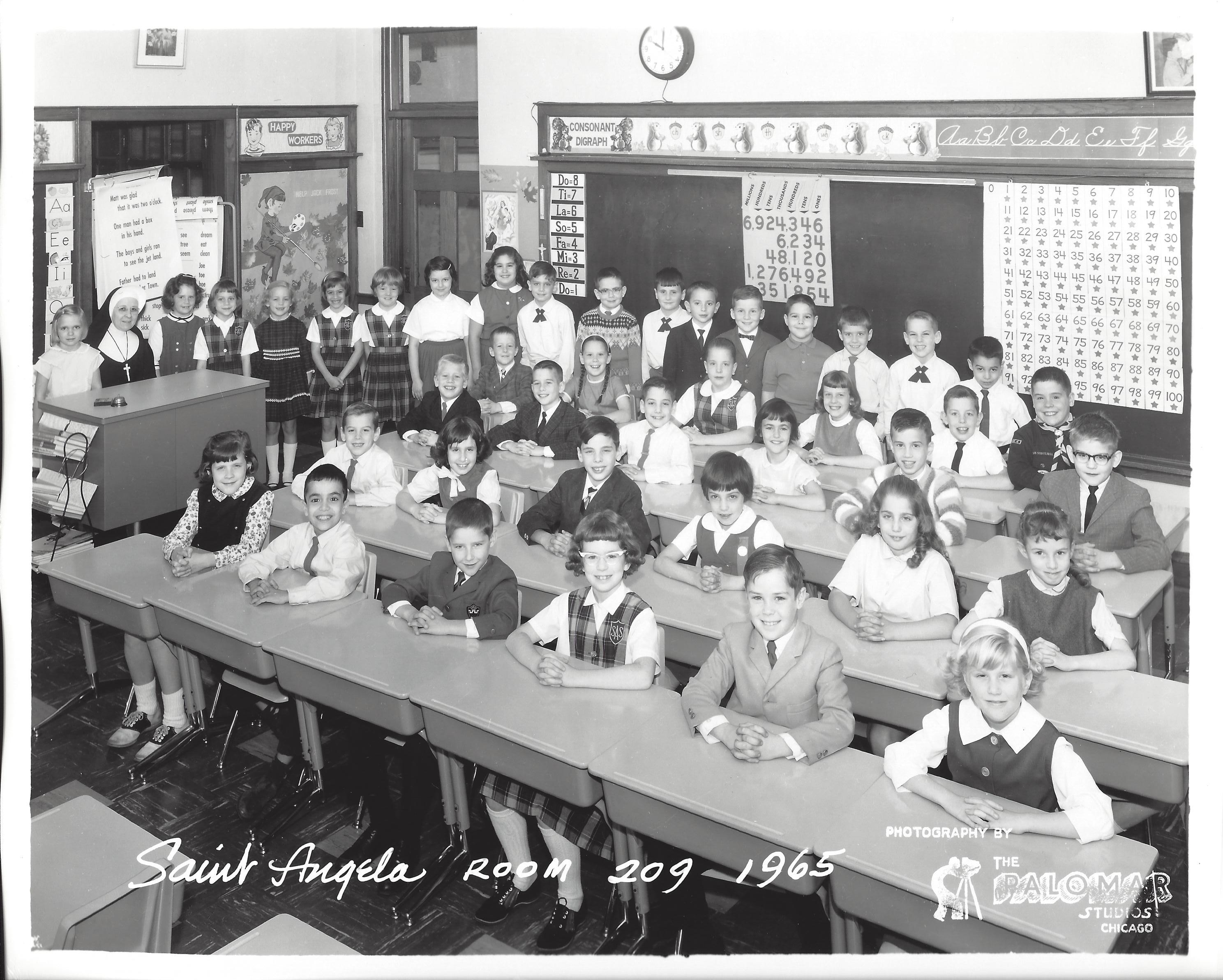1965 Grade Three Room 209