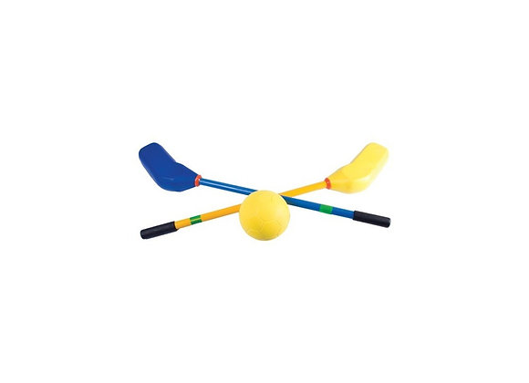 Set Hockey Foam 12 Mazas + Pelota