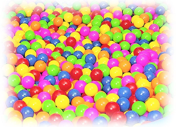 Pack pelotas llenado