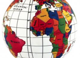 mapamundi PVC