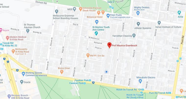 72 Park Street map.png
