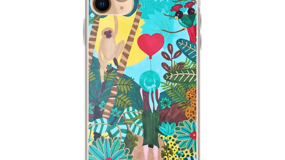 """She heart jungle"" - iPhone Case"
