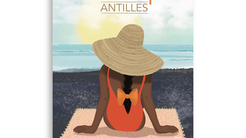 """Martinique"" Poster"