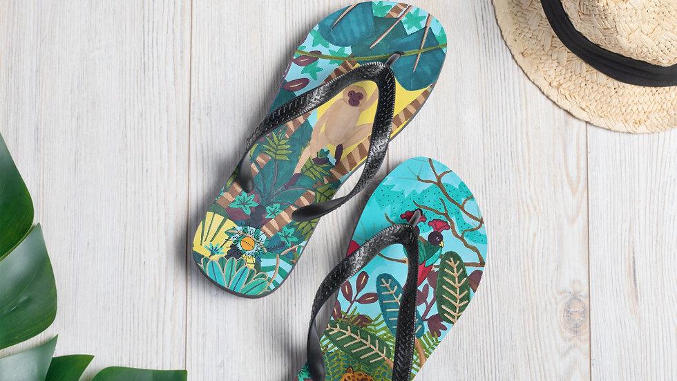 """She heart jungle"" - Flip-Flops"