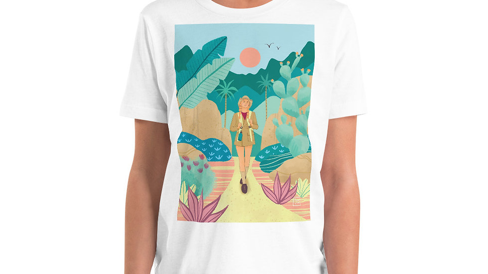 """Into the wild"" - Youth T-Shirt"