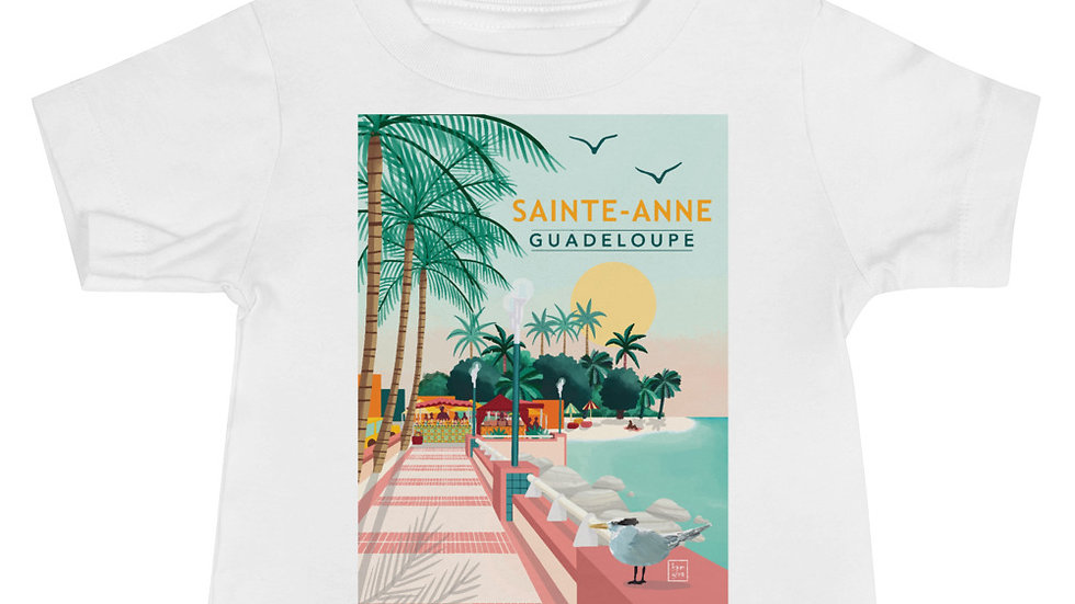 """Sainte-Anne Guadeloupe"" - Baby T-Shirt"