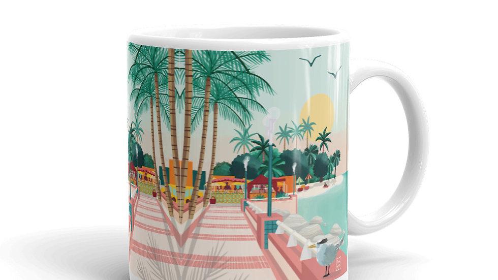 """Sainte-Anne Guadeloupe"" - Mug"