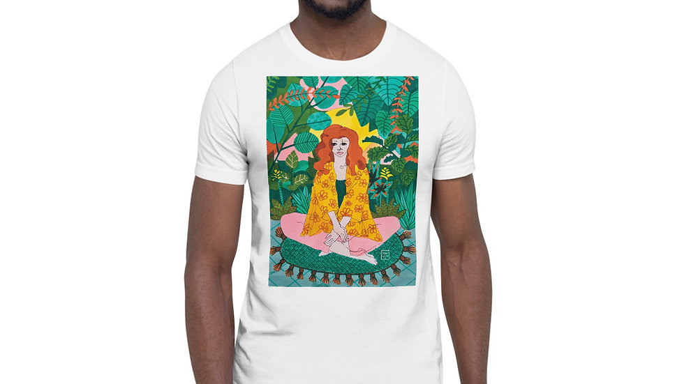 """Jungle meditation"" - Men Photo T-Shirt"