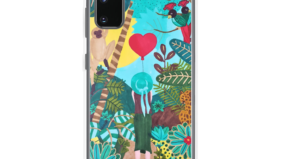 """She heart jungle"" - Samsung Case"