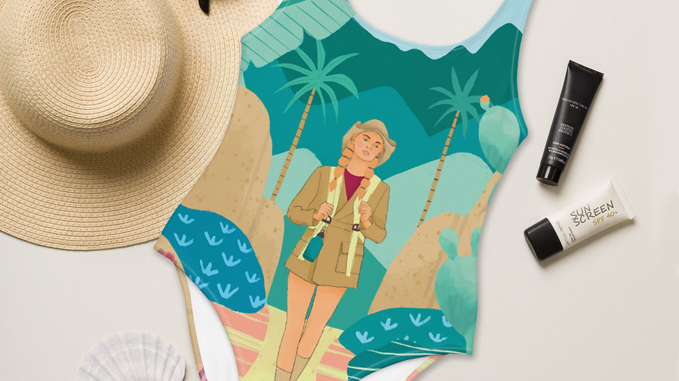 """Into the wild"" - One-Piece Swimsuit"