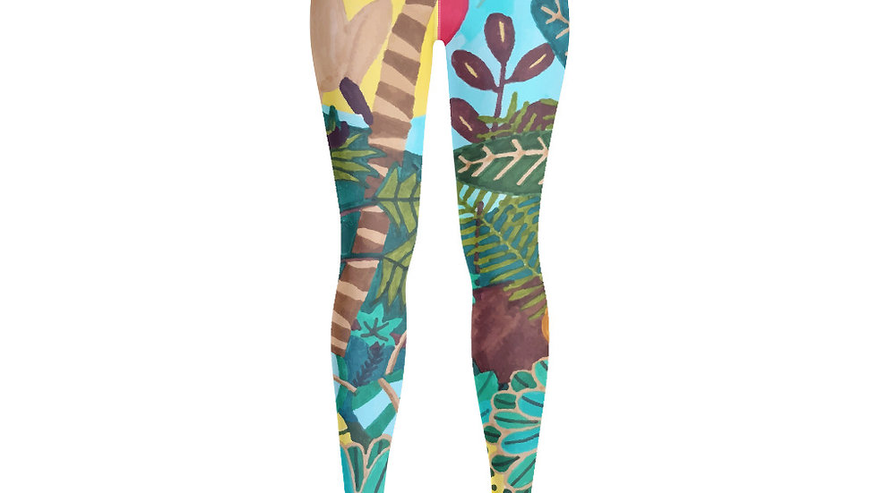 """She heart jungle"" - Yoga Leggings"
