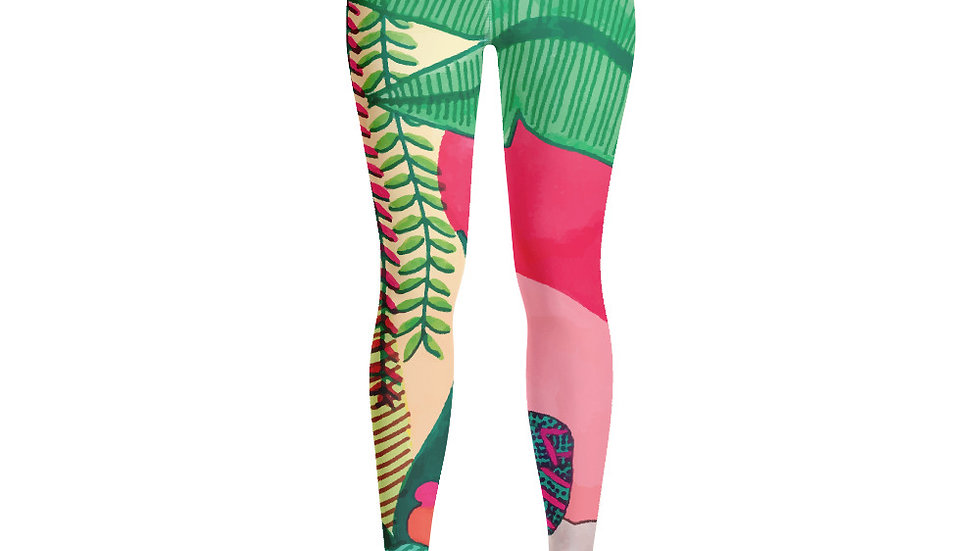 """Seed growth"" - Yoga Leggings"