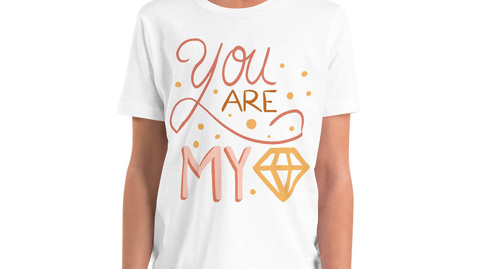 """You are my diamond"" - Youth T-Shirt"