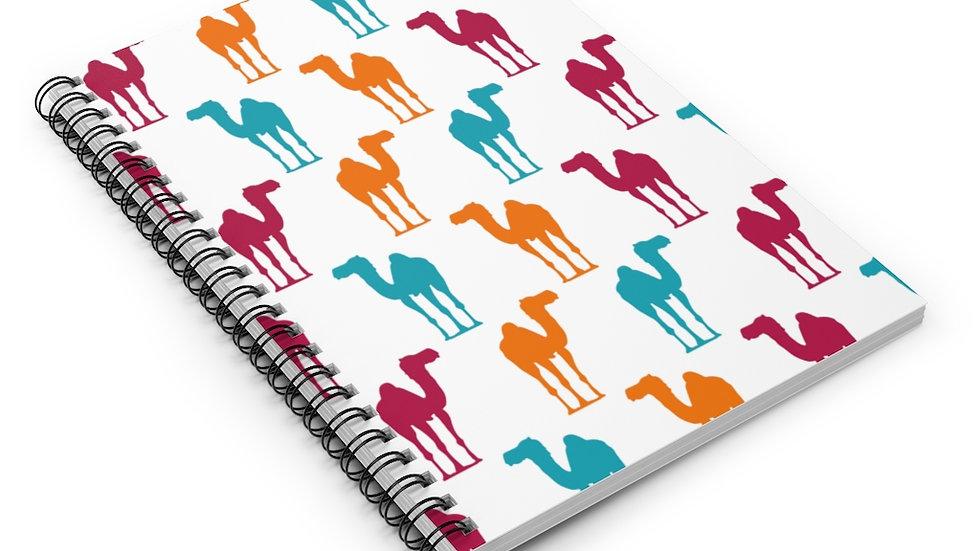 Camel Tutti - Spiral Notebook