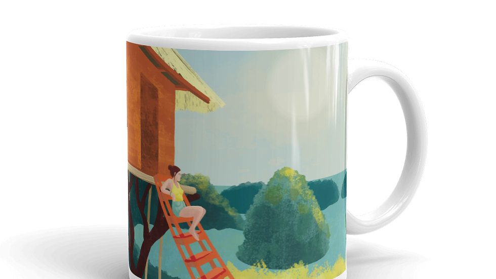 """Sunset in Bali"" - Mug"