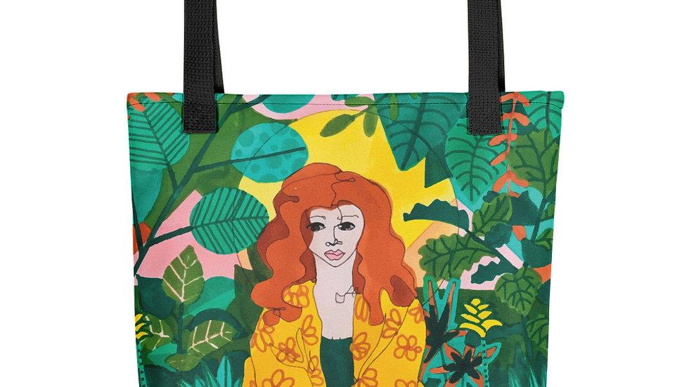 """Jungle meditation"" - Tote bag"