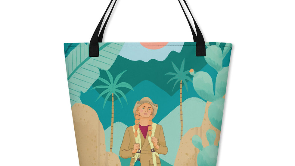 """Into the wild"" - Beach Bag"