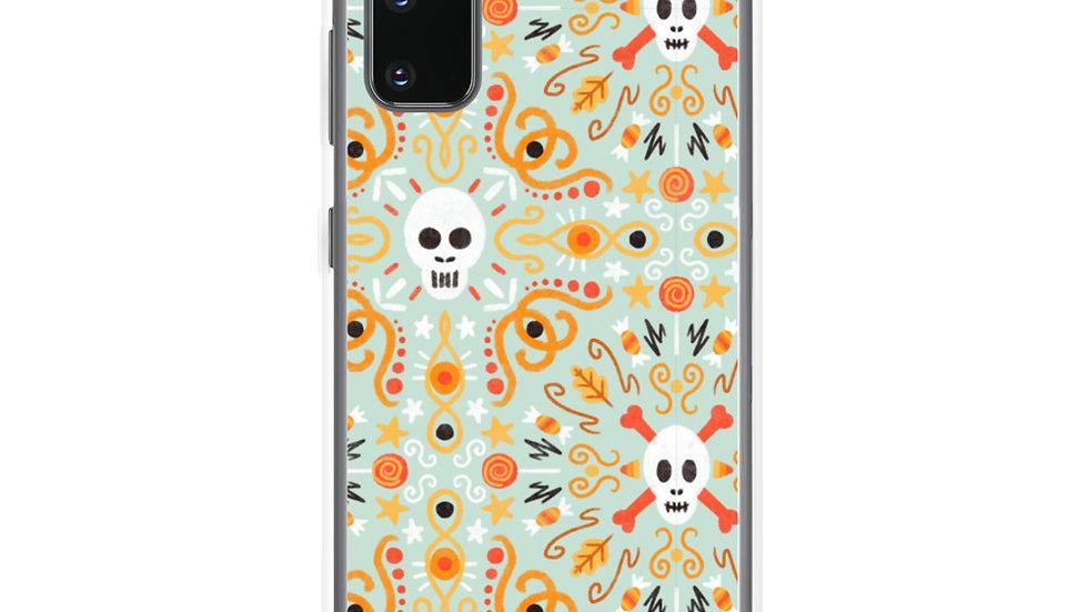 """""""Skull Mandala Blue"""" - Samsung Case"""