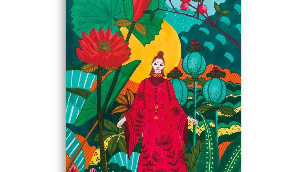 """""""Japanese garden"""" - Poster"""
