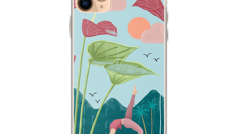 """Nature Yoga"" iPhone Case"