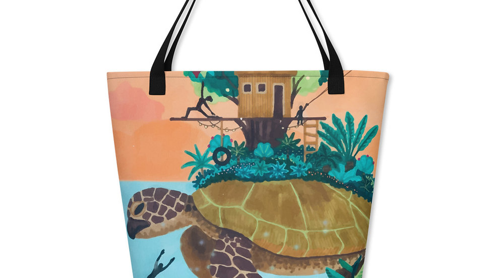 """Dream destination"" - Beach Bag"