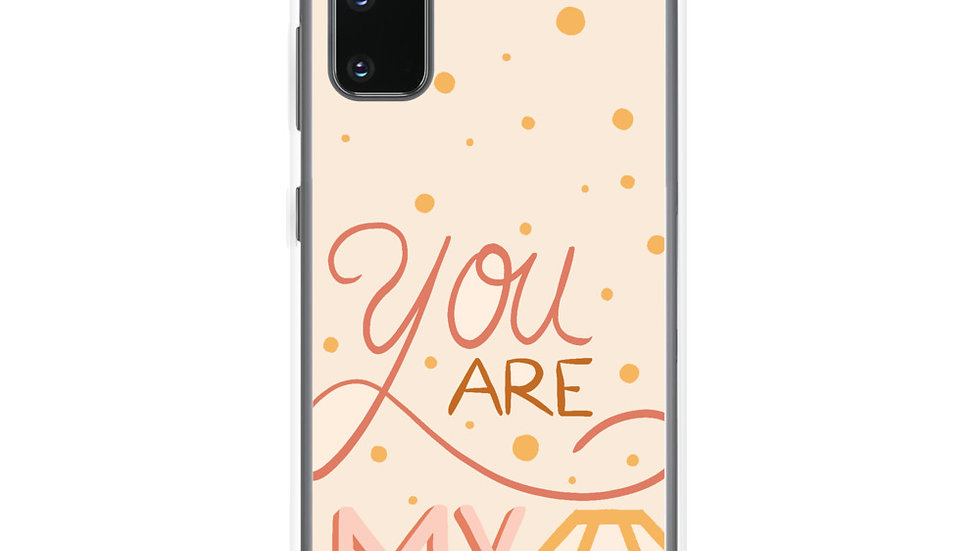 """You are my diamond"" - Samsung Case"