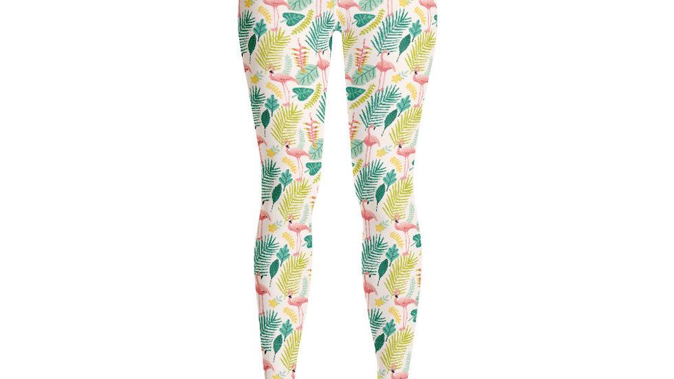 """""""Flamingo Cream"""" - Yoga Leggings"""