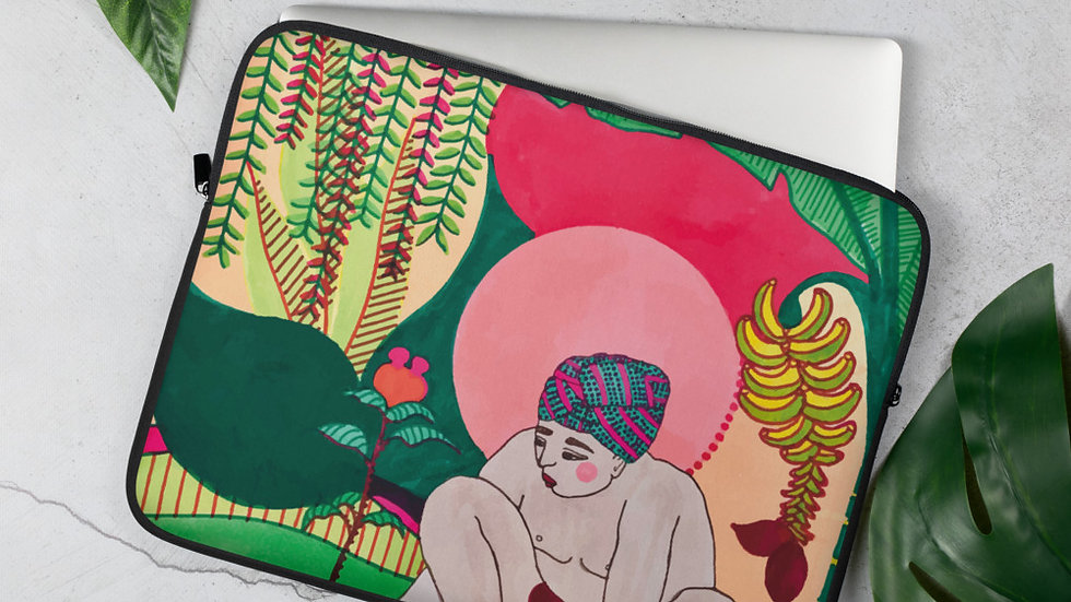 """Seed growth"" - Laptop Sleeve"
