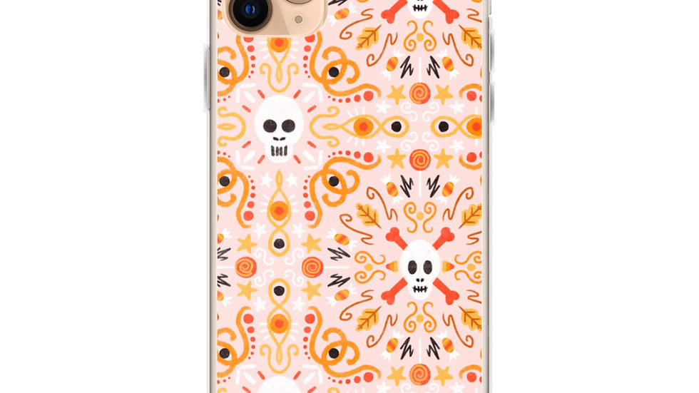 """Skull Mandala Pink"" - iPhone Case"