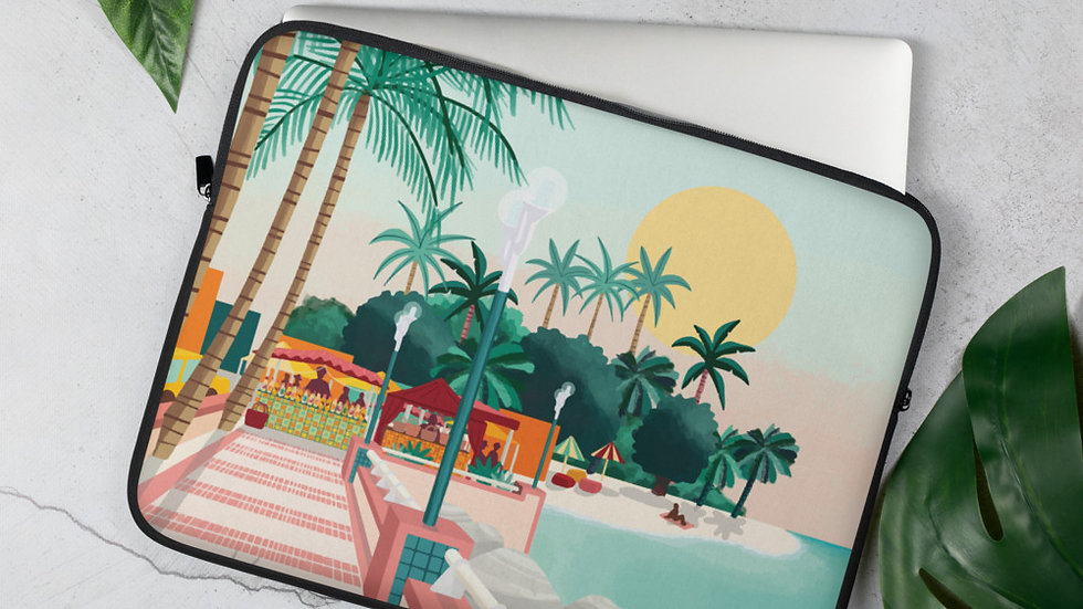 """Sainte-Anne Guadeloupe"" - Laptop Sleeve"