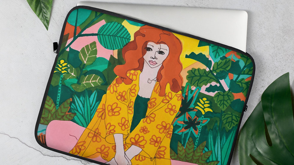 """Jungle meditation"" - Laptop Sleeve"