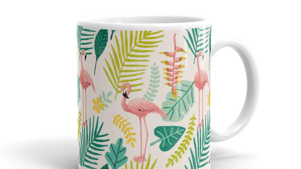 """""""Flamingo Cream"""" - Mug"""