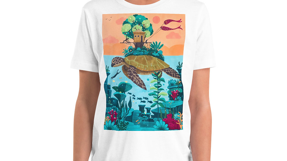 """Dream destination"" - Youth T-Shirt"