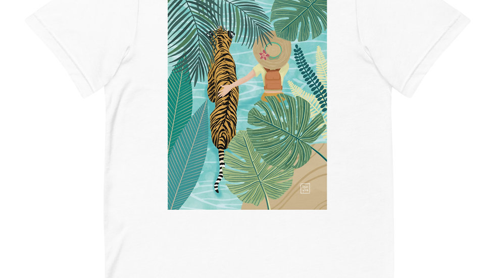 """Tiger travel companion"" - Women T-Shirt"