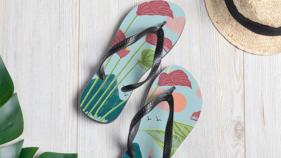 """Nature Yoga"" - Flip-Flops"