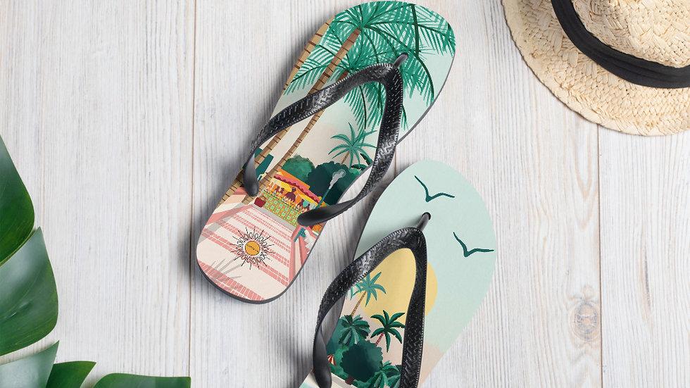 """""""Sainte-Anne Guadeloupe"""" - Flip-Flops"""