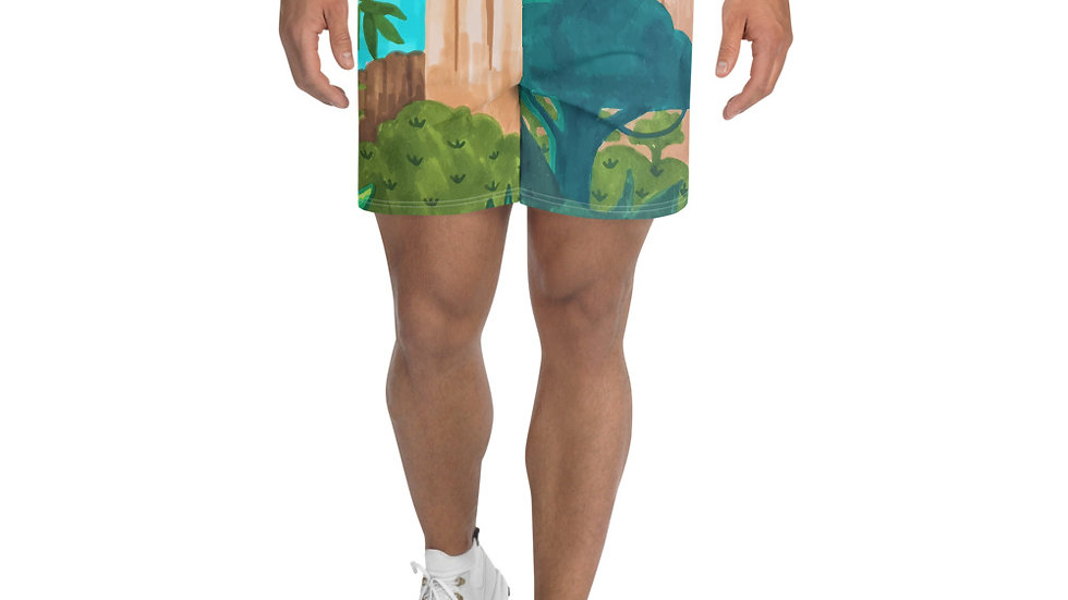 """Savana"" - Men's Athletic Long Shorts"