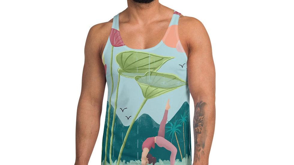"""Nature Yoga"" - Unisex Tank Top"