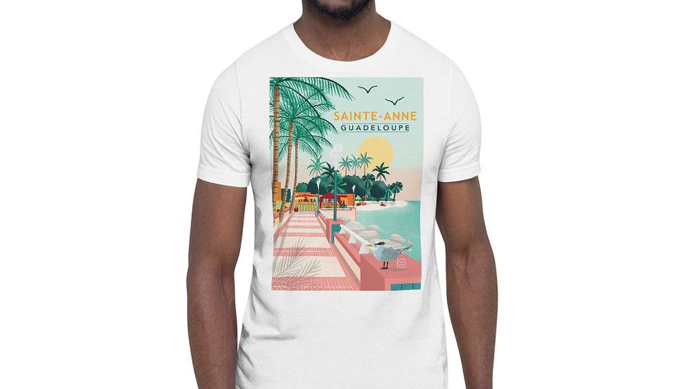 """Sainte-Anne Guadeloupe"" - Men Photo T-Shirt"